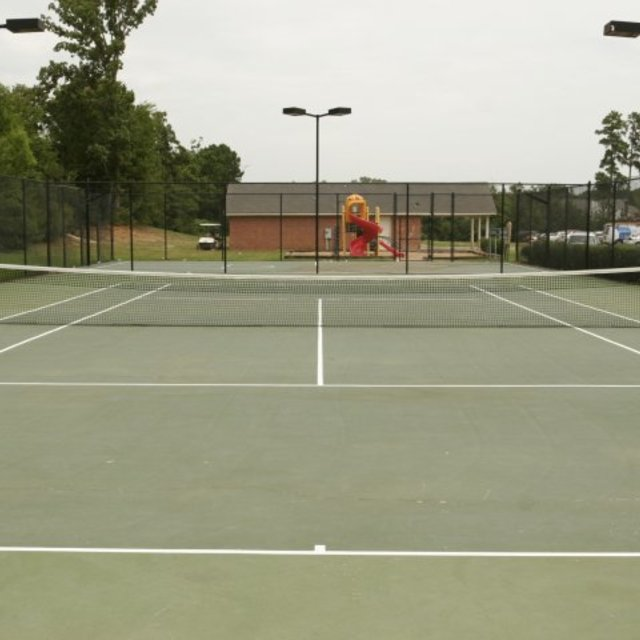 Spring Lake Apartments, Byram, MS - Tennis Court