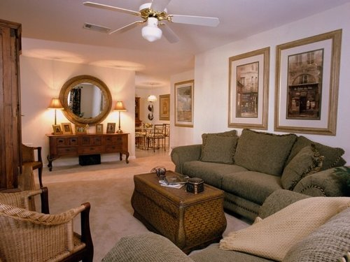 Spring Lake Apartments, Byram, MS - Living Room